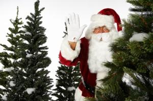 Santa visits Branson