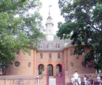 Governor's Palace in Williamsburg, VA