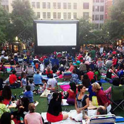 outdoor movies dc